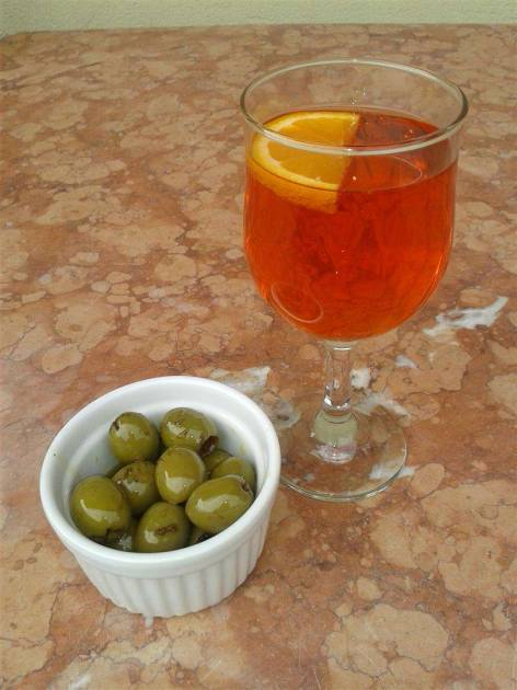 Spritz and Olives