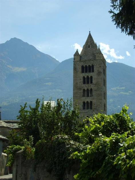 The Bell Tower, Aosta City