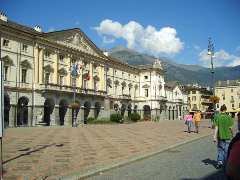 The Piazza, Aosta City